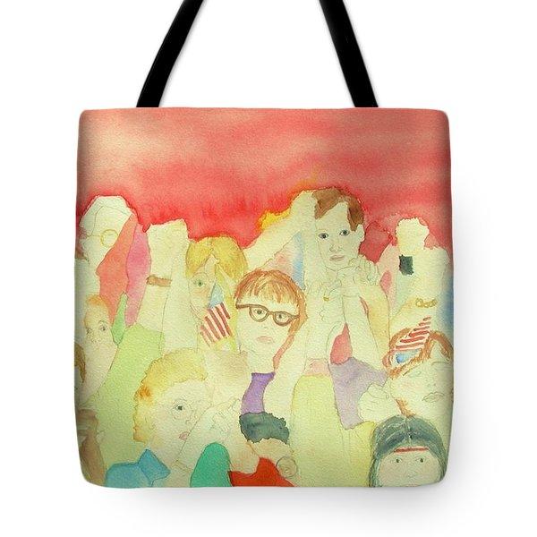 American Unity Tote Bag by Ann Michelle Swadener