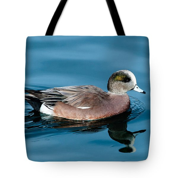 American Wigeon Tote Bag by Stephen  Johnson