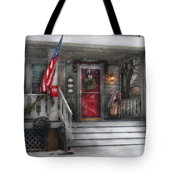 Americana - A Tribute To Rockwell - Westfield Nj Tote Bag