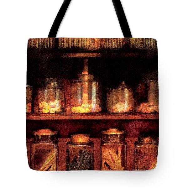 Americana - Candy Tote Bag by Mike Savad