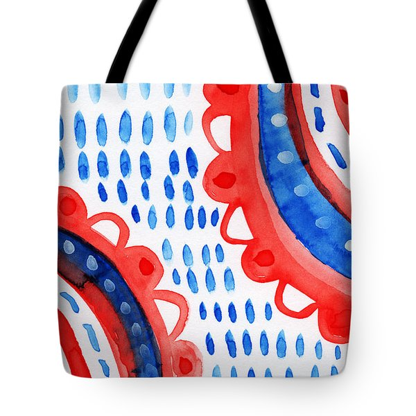 Americana Celebration 3- Painting Tote Bag