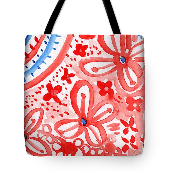 Americana Celebration- Painting Tote Bag