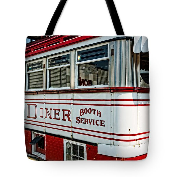 Americana Classic Dinner Booth Service Tote Bag by Edward Fielding