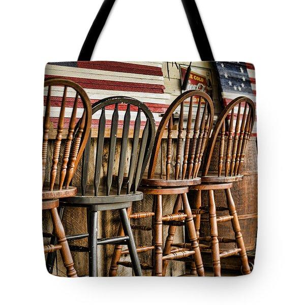 Americana Tote Bag by Heather Applegate