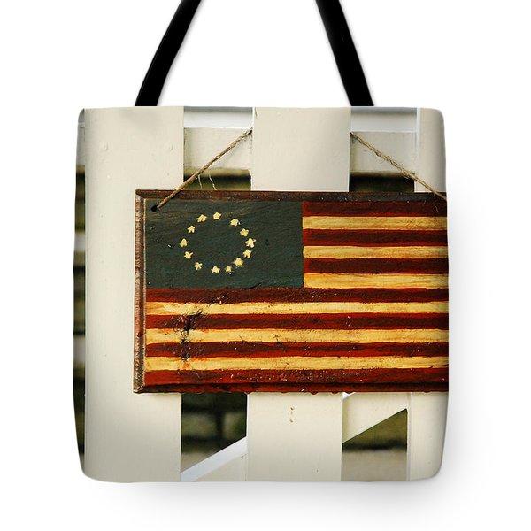 Americana Tote Bag by James Kirkikis