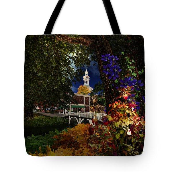 Americana Tote Bag by Kylie Sabra