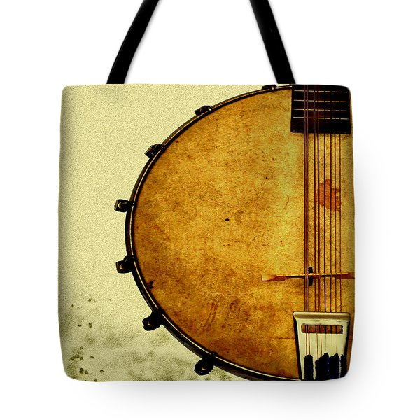 Americana Music Tote Bag by Bill Cannon