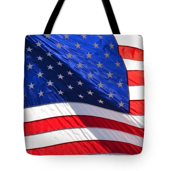 Americana Tote Bag by P S