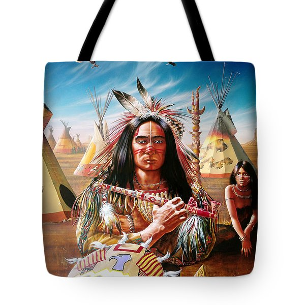 Americans Tote Bag by Adrian Cherterman