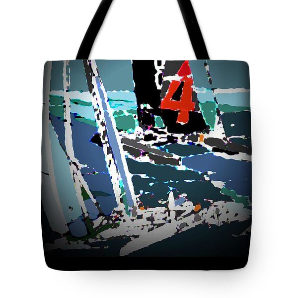 America's Cup 2013 Poster Tote Bag