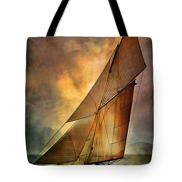 America's Cup  Tote Bag