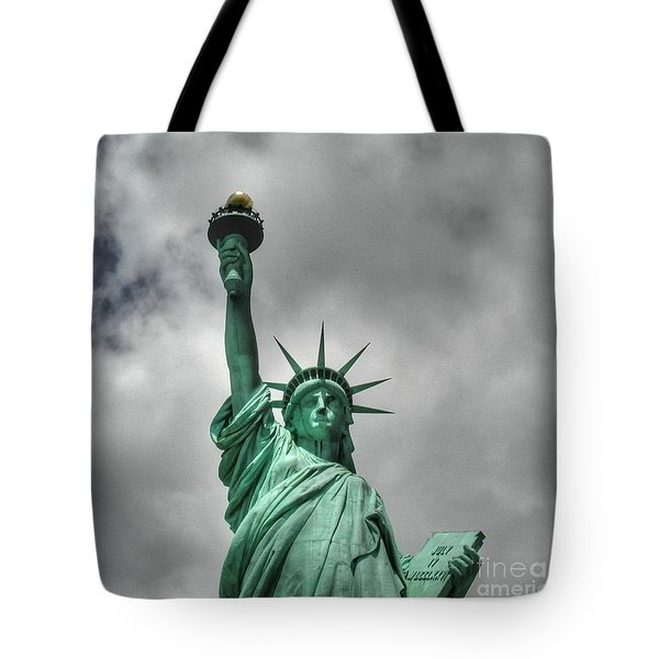 America's Lady Liberty Tote Bag
