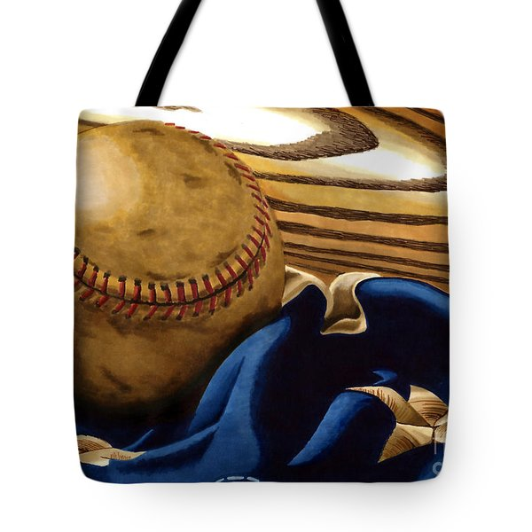 America's Pastime 3 Tote Bag