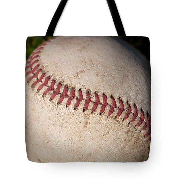 America's Pastime - Baseball Tote Bag by David Patterson