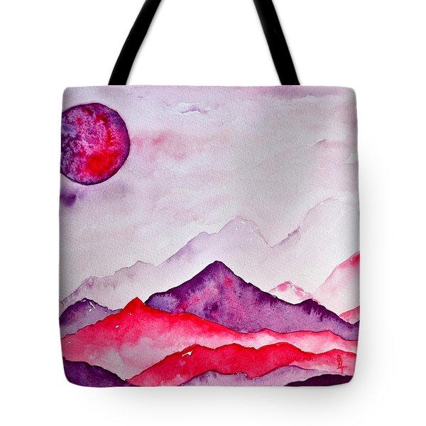 Amethyst Range Tote Bag by Beverley Harper Tinsley