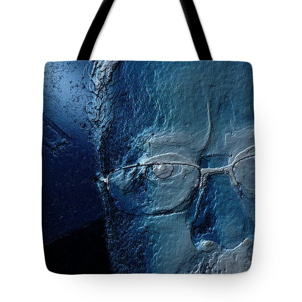 Amiblue Tote Bag by Jeff Iverson
