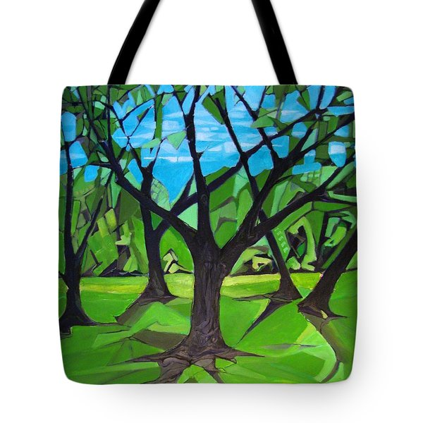 Amigos - Trees Botanicals Tote Bag by Grace Liberator