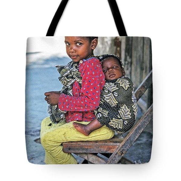 Amali And Mosi Tote Bag