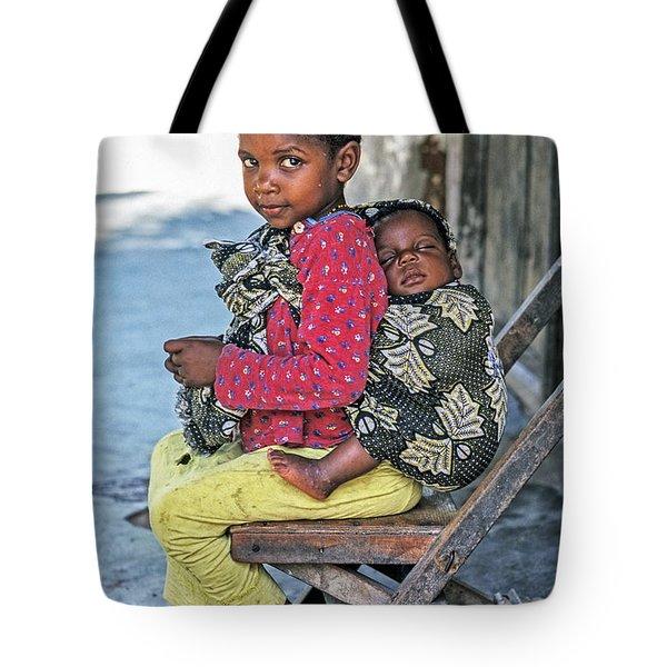 Amali And Mosi Tote Bag