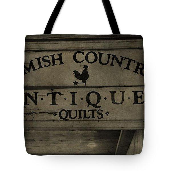 Amish Antique Quilts  Tote Bag