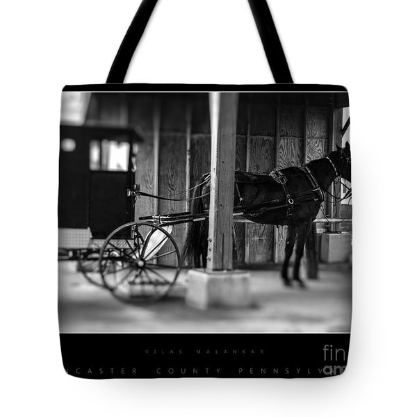 Amish Buggy Parking Tote Bag