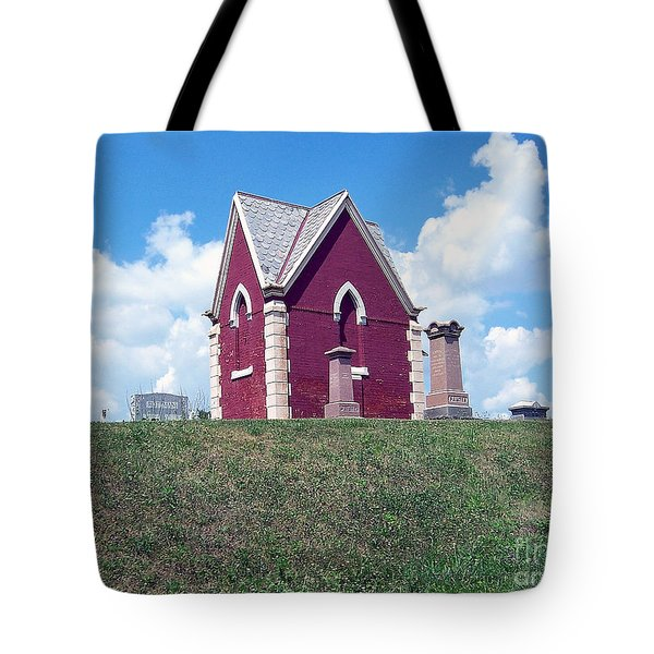 Tote Bag featuring the photograph Amish Cemetery by Gena Weiser