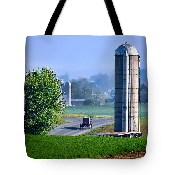 Amish Country  Tote Bag by Dyle   Warren