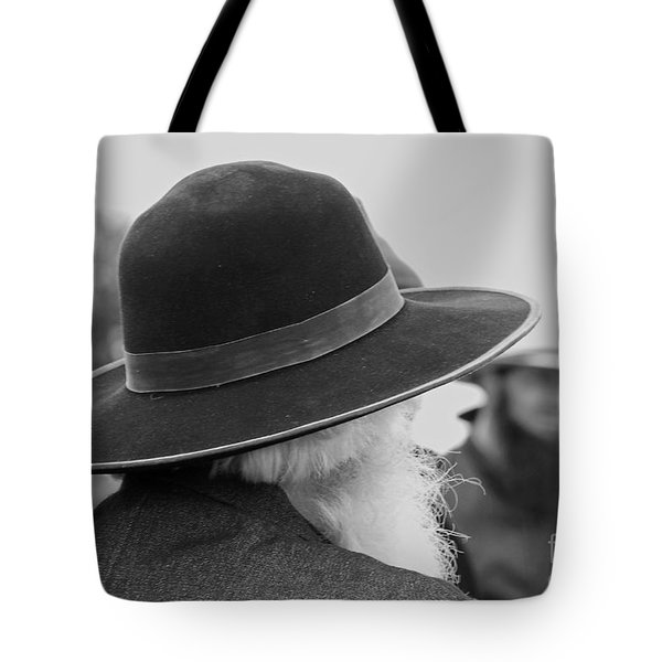 Amish Faces Tote Bag by Mary Carol Story