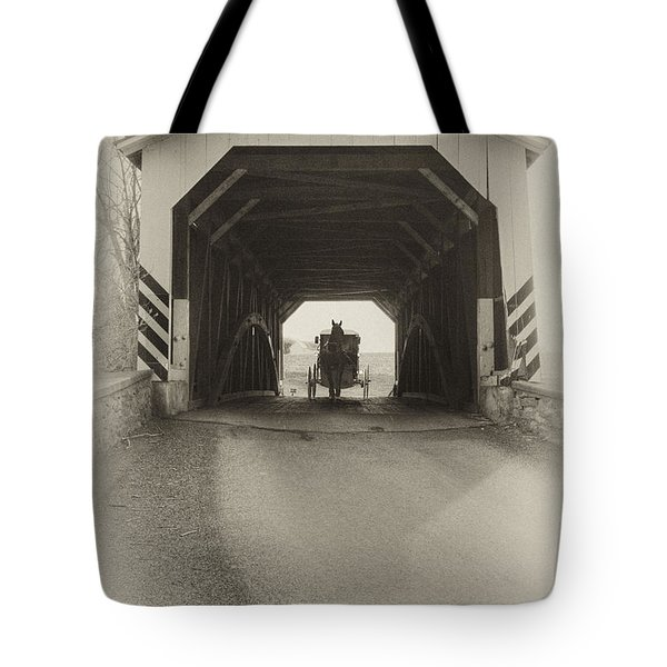 Amish Region - Vintage Tote Bag