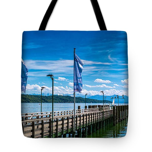 Ammersee - Lake In Bavaria Tote Bag