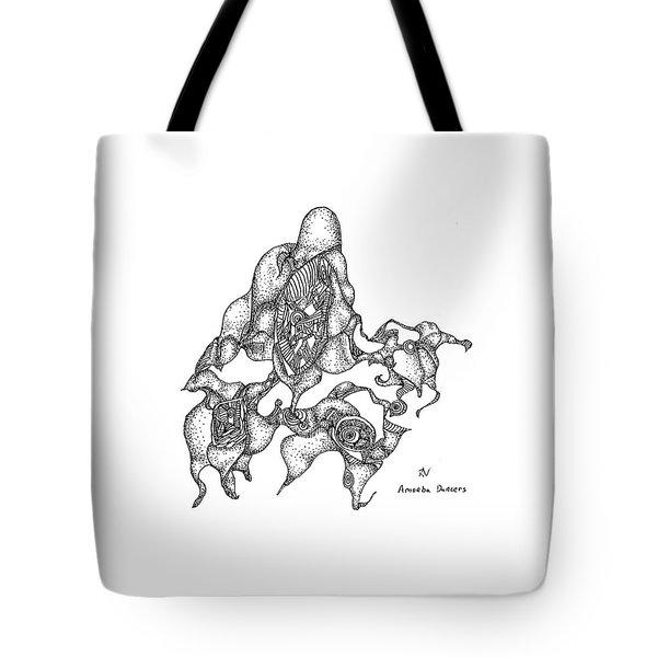 Amoeba Dancers Tote Bag
