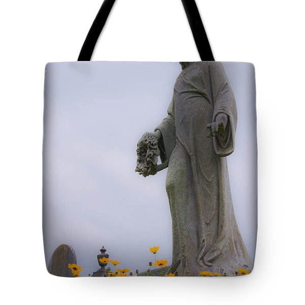 Among The Flowers Tote Bag