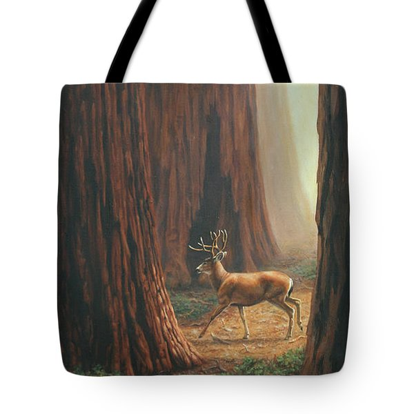 Sequoia Trees - Among The Giants Tote Bag