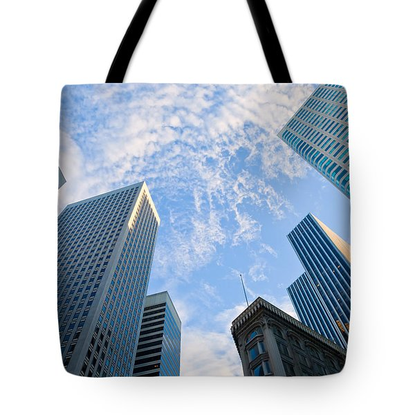 Tote Bag featuring the photograph Among The Giants by Jonathan Nguyen