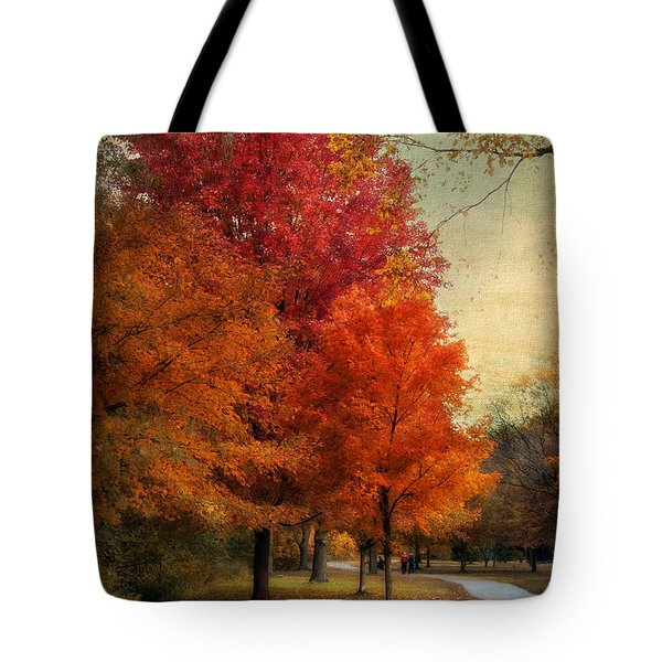 Among The Maples Tote Bag by Jessica Jenney