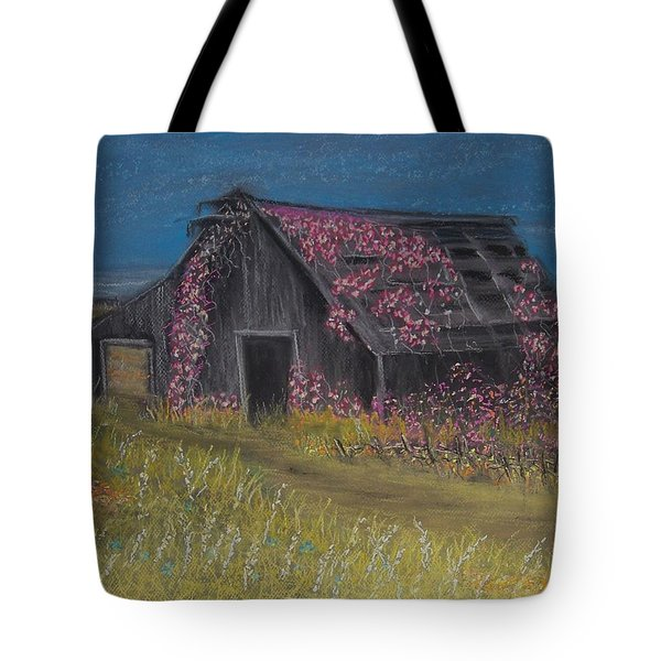 Among The Roses Tote Bag by Julie Grace