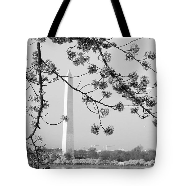 Amongst The Cherry Blossoms Tote Bag
