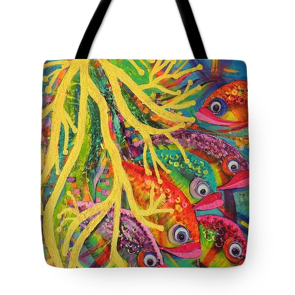 Amongst The Coral Tote Bag