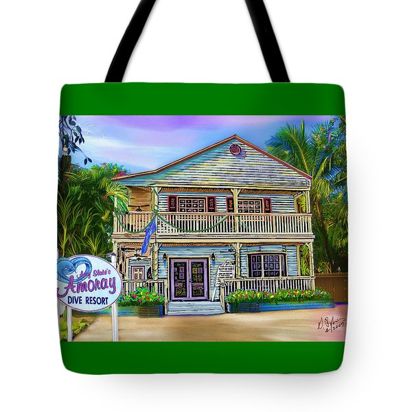 Amoray Dive Resort Tote Bag by Gerry Robins