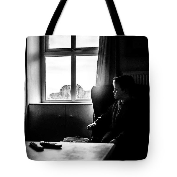 Amos, In The Window Light Tote Bag