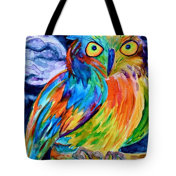 Ampersand Owl Tote Bag