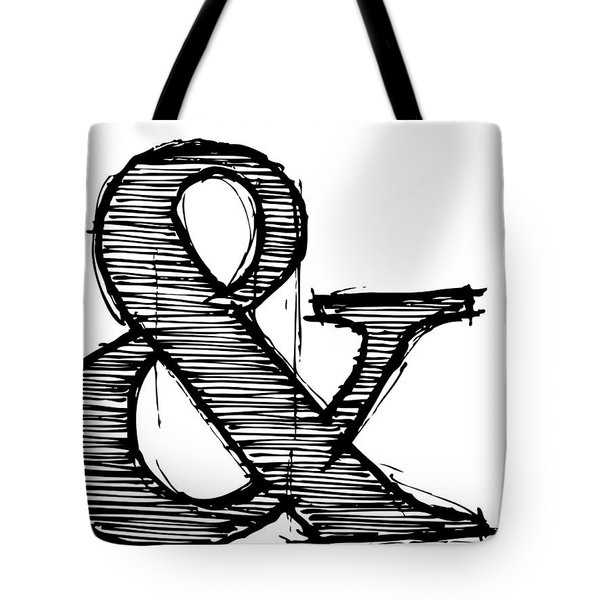 Ampersand Poster 1 Tote Bag