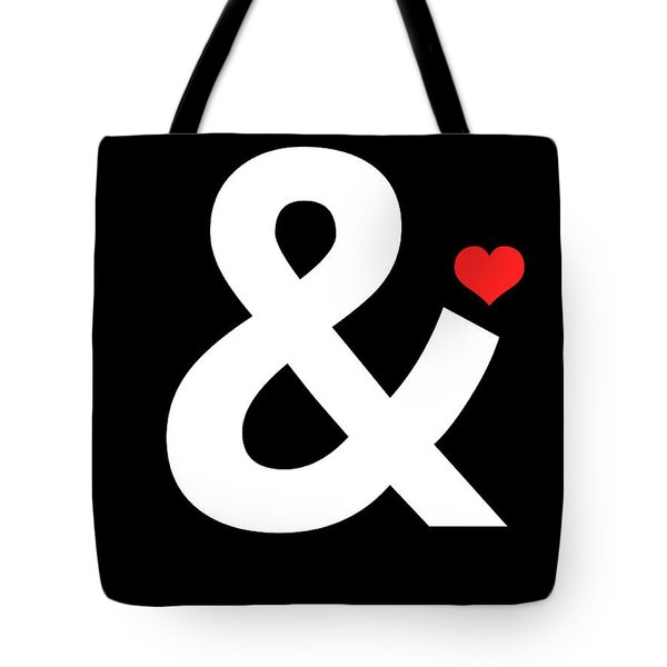 Ampersand Poster 4 Tote Bag