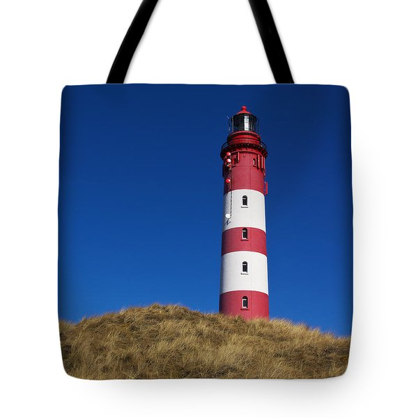 Amrum Lighthouse Tote Bag
