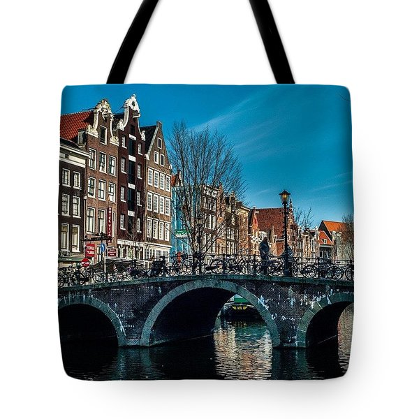 Amsterdam Tote Bag by Aleck Cartwright