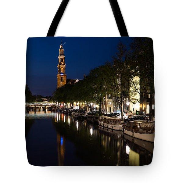 Amsterdam Blue Hour Tote Bag