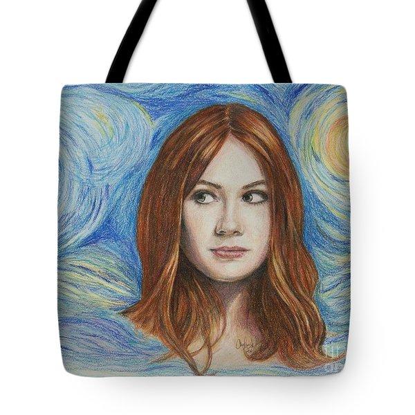 Amy Pond / Karen Gillan Tote Bag