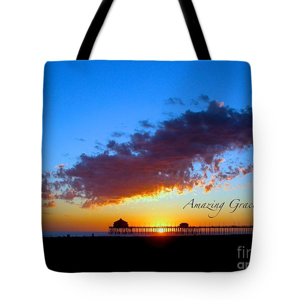 Amzing Grace 7 Tote Bag by Margie Amberge