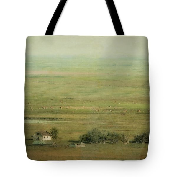 An Abandoned Farmhouse Tote Bag by Roberta Murray