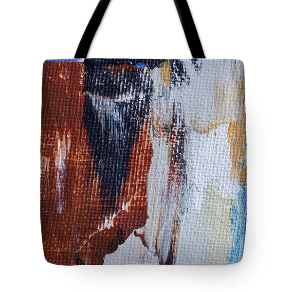 Tote Bag featuring the painting An Abstract Sort Of Weekend by Heidi Smith